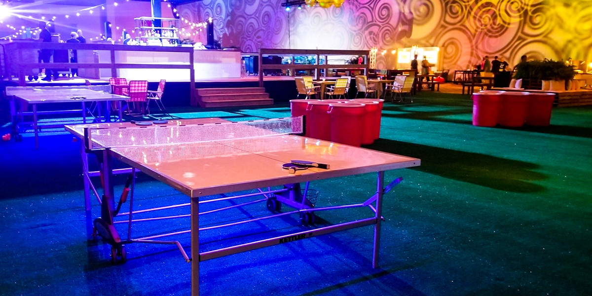 LED Ping Pong and Giant Beer Pong